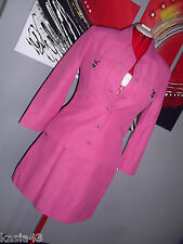 VINTAGE VERSACE JEANS COUTURE Outfit Jacket and mini Skirt SUIT SIZE 30/44