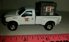 1/64 CUSTOM ertl farm toy Ford f350 stone TRUCK W/ probox of seed corn soybeans