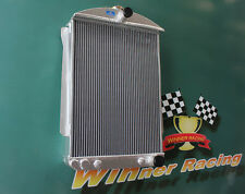 ALUMINUM ALLOY RADIATOR FIT CHEVY CAR STREET ROD AUTO 1940-1941 56MM A/T