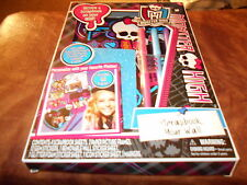 Monster High Scrapbook Your Wall -Picture Frames, Stickers NIP