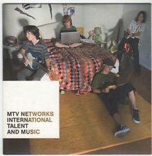 (EM981) MTV Networks Int Talent & Music, Mama's 2 hour show sampler- 2008 DJ DVD