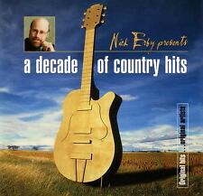 A DECADE OF COUNTRY HITS presented by NICK ERBY / VARIOUS ARTISTS - 2 CD SET
