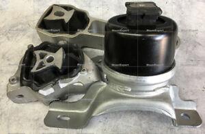 3pcSet Mounts fit Volvo S60 2011 2012 2013 2014 2015 2016 3.0L Turbo