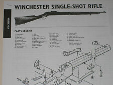 WINCHESTER SINGLE SHOT RIFLE EXPLODED VIEW