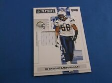 Playoff NFL Playoffs 2007 Materials PRIME Short Print SP Shawne Merriman 83 1/5