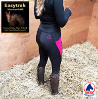 Premium Performance Easytrek Full Silicone Seat Jodhpurs Riding Tights Breeches