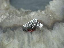 Piercing Wechselteil REVOLVER Pistole Zungenpiercing Labret Ohrstecker 1,6MM