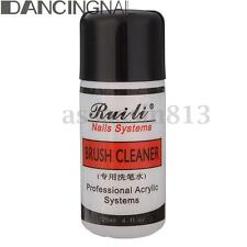 120ML 4oz Professional Acrylic Brush Cleaner Cleanser Nail Art Pen Remover Tool