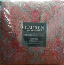 Ralph Lauren Home Corot Paisley FULL/QUEEN Comforter & Shams Set Cotton