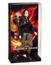 NEW The Hunger Games Katniss Everdeen Doll Barbie Collector Black Label