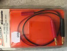GForce RC GF-1200-110 Cordon charge 2.0 connecteur doré câble silicone 20AWG