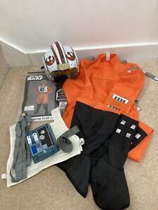 Star Wars X Wing Pilot Luke Skywalker Childs Costume Medium Age 5-7 Years