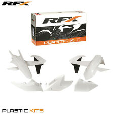 RFX KTM EXC250/300 EXC-F250-500 2017 WHITE 6PC PLASTIC KIT C/W LEFT AIRBOX COVER