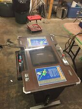 Original Sega Frogger cocktail table arcade game