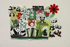 Panda Love Chipboard Mini Book Album Kit (Scrapbook) Bears