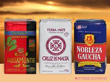 YERBA MATE - Rosamonte Cruz de Malta Nobleza Gaucha - 3 Kilos - FREE Shipping