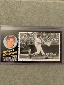 2020 Topps Heritage High Number Frank Robinson Greatest Moments Box Topper