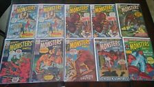 WHERE MONSTERS DWELL #1 / WHERE CREATURES ROAM #1 COMIC LOT