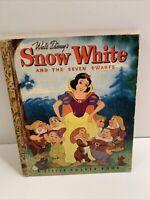 1948 Walt Disney Snow White and the Seven Dwarfs Little Golden Book - D dating