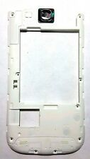 White Back Rear Housing Frame Camera Lens For Sprint Samsung Galaxy S3 III L710