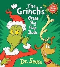 The Grinch's Great Big Flap Book by Dr Seuss (Board book, 2014)