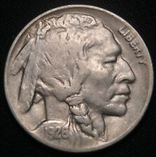 1926-D Buffalo Nickel, VF+