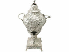 Argent sterling Samovar-Style Régence-Antique George III