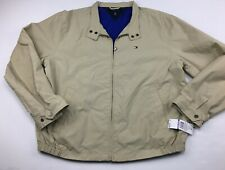 Tommy Hilfiger Flag Khaki Lightweight Golf Sailing...