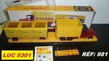 GMC PINDER+REMORQUE-CAGE ET FAUVES  #881 SÉRIE PRIVILEGE 1/43 PAR DINKY / ATLAS