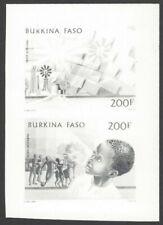 BURKINA FASO #C309-10 1985 PHILEXAFRICA '85 Lome composite photographic proof