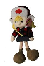 "CANADA Outdoor GIRL 12"" Inch KICKIN'S KIDS TOY DOLL ..New"