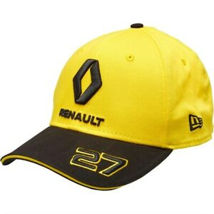 NEW ERA Renault F1 Hulkenberg Essential Yellow/Black Snapback Cap BNWT M/L