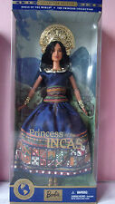 BARBIE Poupées Du Monde- 2000 - Brune Princesse INCA Princess of the Incas 28373