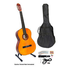 "PYLE PGCKT40 39"" Classical Guitar Package W/ Gig Bag,Strap,Picks,Tuner,Strings"