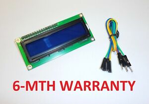 Arduino Display module LCD 16x2 - BLUE color / With I2C soldered interface / UK
