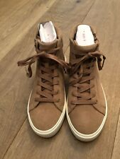 NWB UGG OLLI AMPHORA LEATHER SPORTY HIGH TOP SNEAKER ZIP WOMENS BOOTS SIZE 8.5