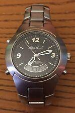 Eddie Bauer Wrist Watch Modern Anadigi New Battery