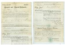 ANTIK Alte Handschrift Urkunde Generalvollmacht Deutsches Konsulat Dayton 1894