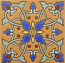 Flor de Ganazia High Relief Talavera Tile