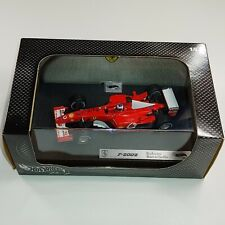 Hot Wheels Racing F1 1:43 scale Ferrari F-2002 Rubens Barrichello