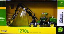 Ertl 45466 John Deere 1270 E Tractor With Harvester