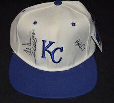 DEADSTOCK Vintage 1990's SIGNED Kansas City Royals Wool Hat NEW ERA