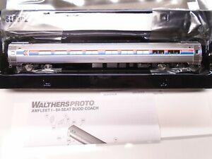 Walthers Proto Ho 920-11202 85' Budd AmFleet Coach car, Amtrak, lot A