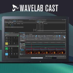 Steinberg WaveLab Cast, podcast  social media software download