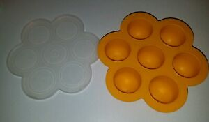 BEABA Multi-Portion Silicone Baby Food Storage Container FREEZER Mold with Lid