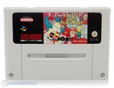 Nintendo SNES Spiel - Simpsons Spiel - Krusty's Super Fun House Modul