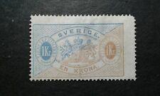 Sweden #O11 unused no gum perf 14 thin e205 9115
