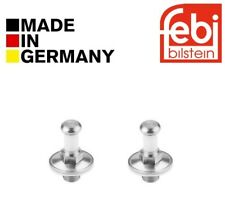 2x Febi Door Lock Pins Kit VW Corrado Derby Golf Jetta Passat Polo Scirocco