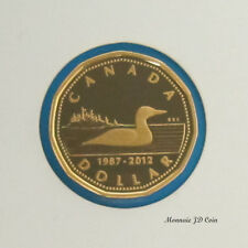 Canada 2012 Loon Dollar Proof 99.99% Fine Silver Coin From Set / No Tax