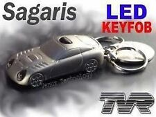 OFFICIAL TVR Super Bright Twin Blue LED Torch Flash Light    _Sagaris RRP £14.99